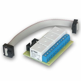 Płytka z przekaźnikami do restartera GSM lub kontrolera LAN LK2