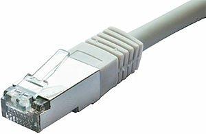 Patchcord FTP kat. 5e - 1m - szary