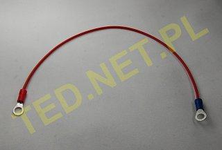 Kabel do łączenia akumulatorów - wtyki oczkowe