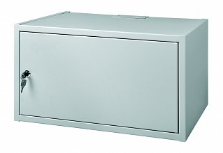 """Szafa rack 19"""" 4,5U/350mm drzwi metalowe, wisząca"""