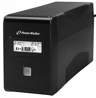 Zasilacz awaryjny PowerWalker VI 650 LCD (Line-Interactive)