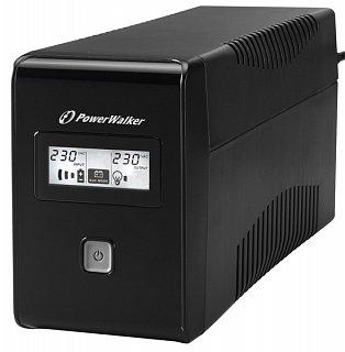 Zasilacz awaryjny PowerWalker VI 850 LCD (Line-Interactive)