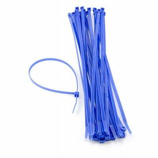 Opaski zaciskowe niebieskie (UV) - 100 x 2,5mm