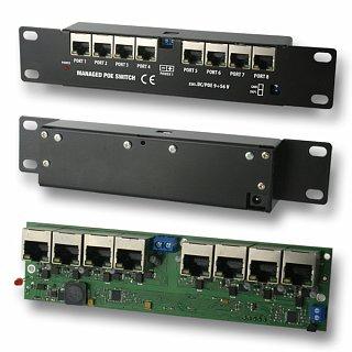 Switch PoE 8-port 9-56V (zarządzalny) ver. 1.1.