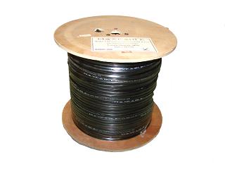 Kabel FTP MAXCABLE zewnętrzny, z linką nośną, żelowany Cu kat. 5e 305m