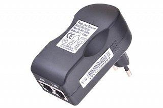 Zasilacz PoE 24V 1,25A z LED - Gigabitowy