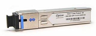 Moduł SFP miniGBIC OPTON WDM, TX1310 1.25Gbps, SM, SC, 20km, DDM