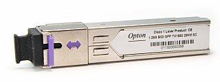 Moduł SFP miniGBIC OPTON WDM, TX1550 1.25Gbps, SM, SC, 20km, DDM