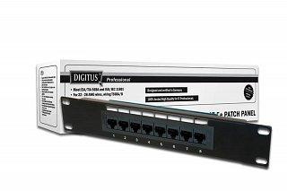 "Patch panel UTP 10"" Digitus 8 portów kat.5e DN-91508U"