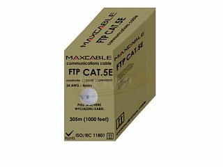 Kabel FTP MAXCABLE Al/Cu kat. 5e 305m