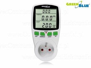 Miernik energii elektrycznej, watomierz GreenBlue GB202