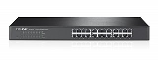 Switch TP-Link TL-SF1024 - 24 porty 10/100Mbit, rack 19""