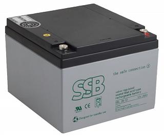 Akumulator bezobsługowy SSB SBL 28-12i 12V 28Ah