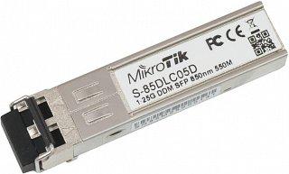 Moduł SFP miniGBIC RouterBOARD S-85DLC05D, DF, 1.25Gbps, MM, LC, 550m