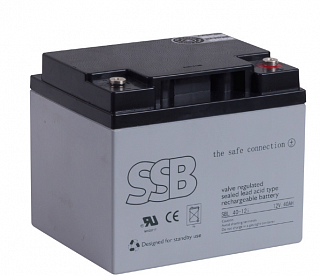 Akumulator bezobsługowy SSB SBL 40-12i 12V 40Ah