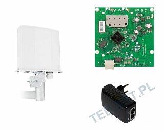 Zestaw klient/bridge 5GHz a/n (RB911-5HnD - MIMO 2x2)