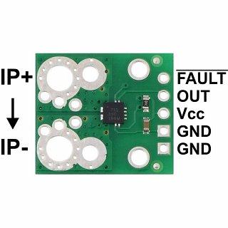 Płytka do pomiaru prądu Pololu 2452 (-15,5A do +15,5A)