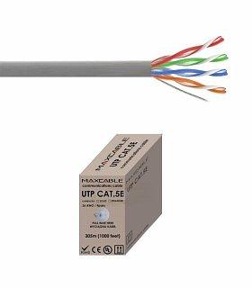 Kabel UTP MAXCABLE Al/Cu kat. 5e 305m
