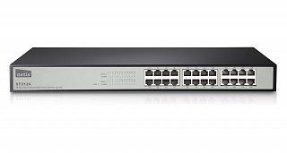 "Switch Netis ST3124 - 24 porty 10/100Mbit, rack 19"""