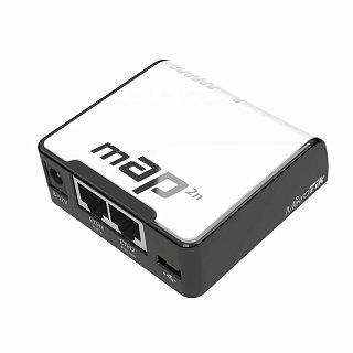 RouterBoard mAP 2n + lic. level 4 + zasilacz