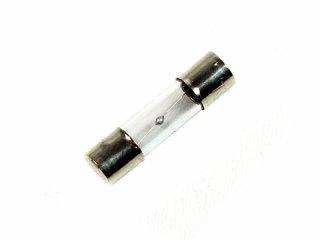 Bezpiecznik topikowy szklany, zwłoczny 250V 1,6A