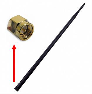 Antena dookólna 2,4GHz 9dBi - wtyk SMA (nie RP-SMA)