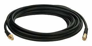 Konektor antenowy RPSMA (wtyk) - RPSMA (gniazdo) - przedłużacz - 1m - H-155