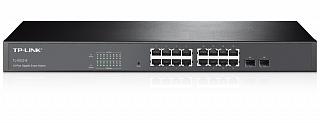 Switch TP-Link TL-SG2216 - 16 portów Gigabit + 2xSFP, zarządzalny