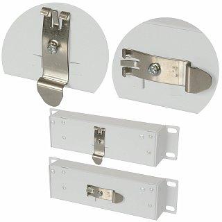 Uchwyt na szynę DIN dla switch PoE 4F1G 5-port