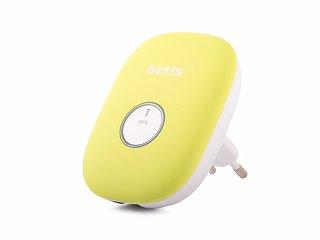 Wzmacniacz sygnału WiFi, repeater Netis E1+ (zielony)