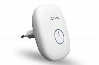 Wzmacniacz sygnału WiFi, repeater Netis E1+ (biały)