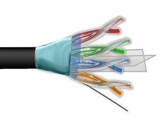 Kabel FTP MAXCABLE zewnętrzny Cu kat. 6 305m
