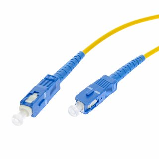 Patchcord optyczny OPTON SC/UPC-SC/UPC simplex SM 9/125 - 1m