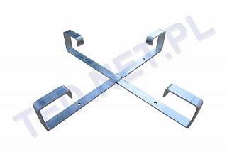 Stelaż zapasu kabla światłowodowego 600x600mm - aluminiowy