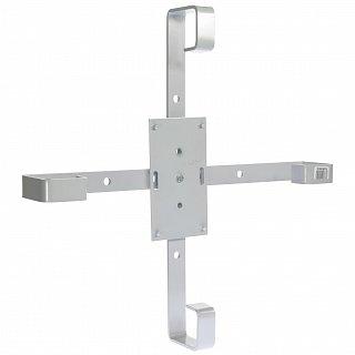 Stelaż zapasu kabla światłowodowego 500x500mm - aluminiowy