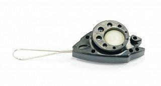 Uchwyt odciągowy FTTH FISH 11 (kabel okrągły i płaski, 3.0 - 5x2mm)