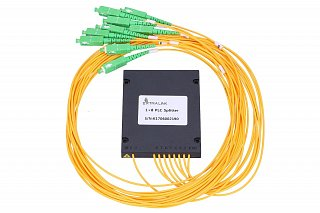 Splitter PLC 1x8, ABS Box, SM 2mm 1m, SC/APC