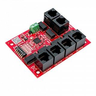 Switch PoE xPoE-6-11-OF - 6 portów (5xPoE +2xUplink) niezarządzalny, bez zasilacza, do zabudowy