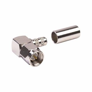 Konektor SMA - wtyk kątowy (H155)