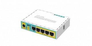 RouterBoard 750UPr2 (hEX PoE Lite) + lic. level 4 + zasilacz