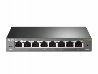 Switch TP-Link TL-SG108E - 8 portowy, Gigabit, Easy Smart, metalowa obudowa