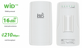 Wisnetworks WIS-Q5300 - High Power, WISP, CPE