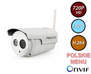 Kamera IP Foscam FI9803P - 1Mpix, WiFi, P2P, podczerwień