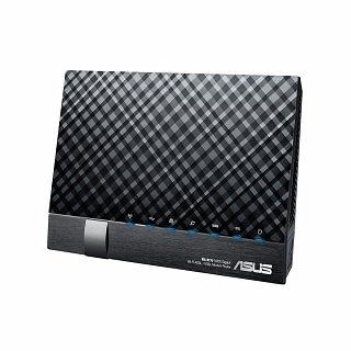 Modem/router ADSL ASUS DSL-N17U (Dual WAN, Gigabitowe porty Ethernet, 2xUSB, obsługa VDSL)