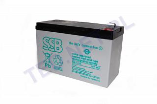 Akumulator bezobsługowy SSB SBL 9-12L 12V 9Ah