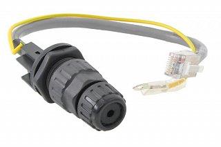 Gniazdo RJ45 Waterproof Ethernet FTP z uziemieniem (RF Elements)
