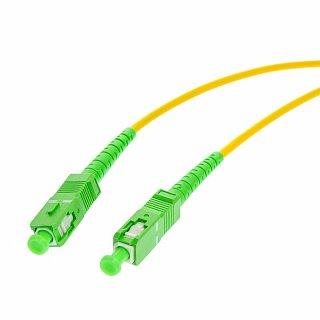 Patchcord optyczny OPTON SC/APC-SC/APC simplex SM 9/125 - 5m