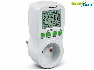 Wyłącznik / włącznik czasowy, programator GreenBlue GB107