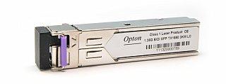 Moduł SFP miniGBIC OPTON WDM, TX1550 1.25Gbps, SM, LC, 3km, DDM