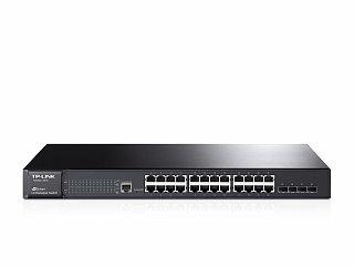 Switch TP-Link T2600G-28TS (TL-SG3424) - 24 porty Gigabit + 4xSFP, zarządzalny